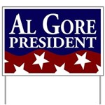 Al Gore for President Yard Sign