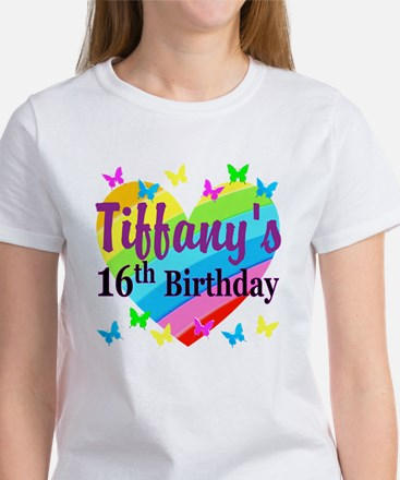PERSONALIZED 16TH Women's T-Shirt