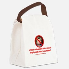 Integrity Returns to Journalism? Canvas Lunch Bag