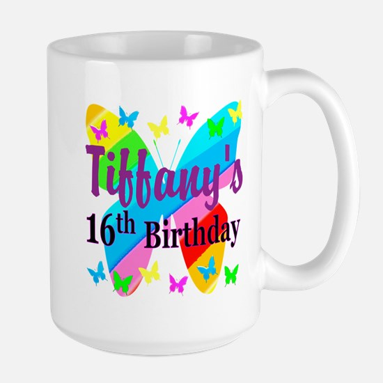 PERSONALIZED 16TH Large Mug