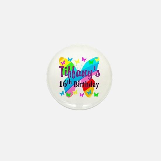PERSONALIZED 16TH Mini Button