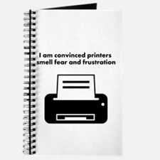 Printers Smell Fear Journal