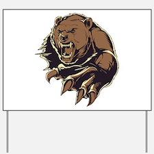 Wild Bear Yard Sign