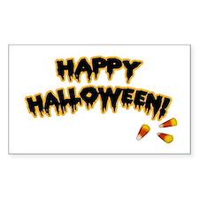 Happy Halloween Rectangle Decal