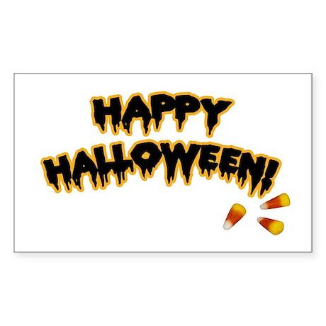 Happy Halloween Rectangle Sticker