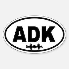 Adirondack ADK Canoe Oval Decal