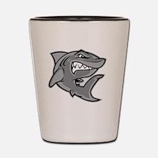Unique Shark logo Shot Glass