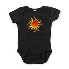 Funny Peace love faith Baby Bodysuit