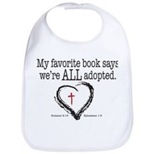 China adoption Bib