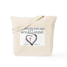 Cute Adoption Tote Bag