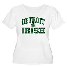 detroit irish Plus Size T-Shirt