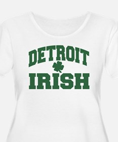 detroit irish Plus Size T-Shirt