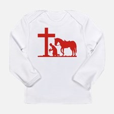 COWBOY PRAYER Long Sleeve T-Shirt