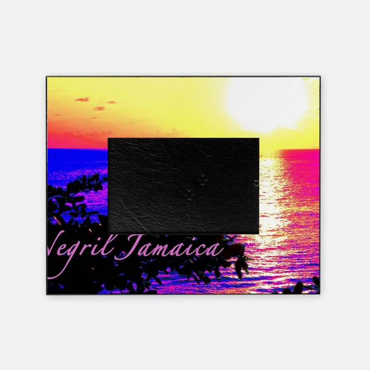 Cute Jamaica Picture Frame