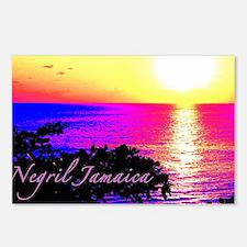 Unique Jamaica Postcards (Package of 8)