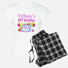 PERSONALIZED 16TH Pajamas