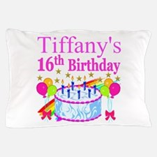 PERSONALIZED 16TH Pillow Case