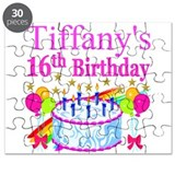 Sweet 16 birthday Puzzles