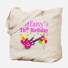 PERSONALIZED 16TH Tote Bag
