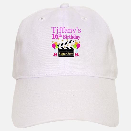 PERSONALIZED 16TH Cap