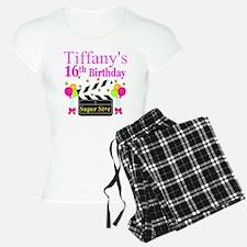 PERSONALIZED 16TH Pajamas