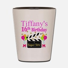 PERSONALIZED 16TH Shot Glass