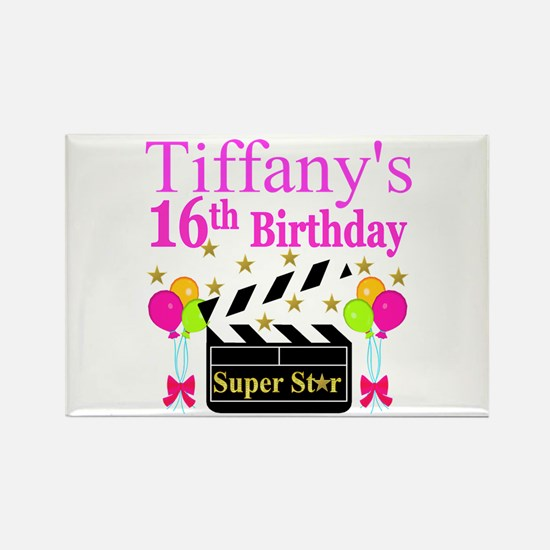 PERSONALIZED 16TH Rectangle Magnet