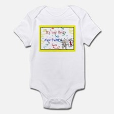 It's my first New Years Infant Bodysuit