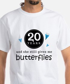 20 Year Anniversary Butterfly T-Shirt