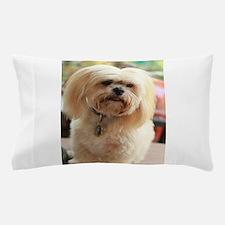 Koko blond lhasa Pillow Case