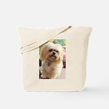 Koko blond lhasa Tote Bag