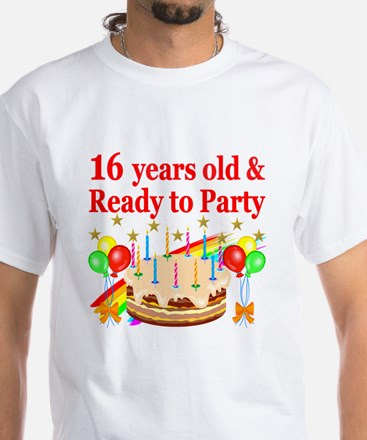PERSONALIZED 16TH Shirt