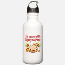 PERSONALIZED 16TH Water Bottle
