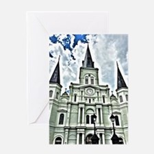 St. Louis Cathedral | Surreal Greeting Cards