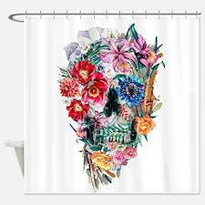 Skull Momento Mori VI Shower Curtain