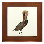 Pelican Framed Tile