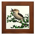 Kookaburra Framed Tile