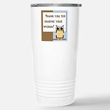 Funny Mentor Travel Mug