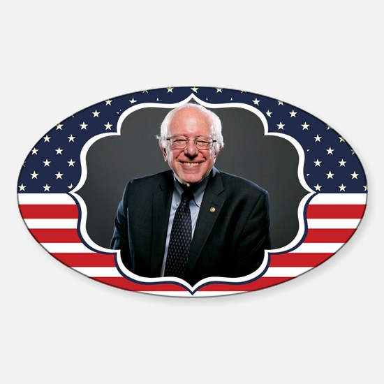 bernie sanders flag Decal