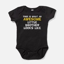 Awesome Little Brother Baby Bodysuit
