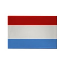 """Luxembourg Flag"" Rectangle Magnet"