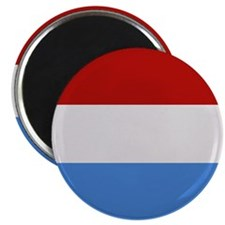 """Luxembourg Flag"" 2.25"" Magnet (10 pack)"