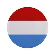 """Luxembourg Flag"" 3.5"" Button"