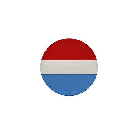 """Luxembourg Flag"" Mini Button"