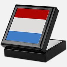 """Luxembourg Flag"" Keepsake Box"
