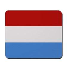 """Luxembourg Flag"" Mousepad"
