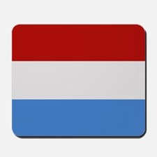"""""""Luxembourg Flag"""" Mousepad"""