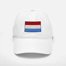 """""""Luxembourg Flag"""" Baseball Baseball Cap"""