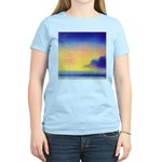 11.perfect beach..? Women's Pink T-Shirt