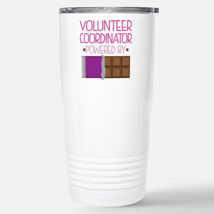 Cute Volunteer coordinator Travel Mug